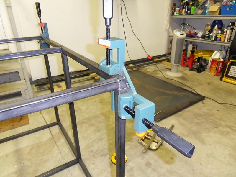 Plans welding table one woodworking for Plan fabrication table