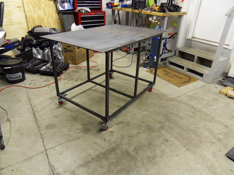 Welding table plans for Plan fabrication table