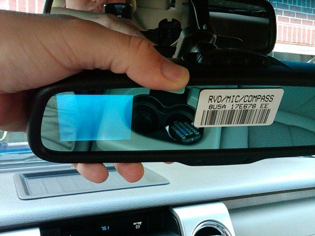 writeup  adding backup camera to 2010 f150