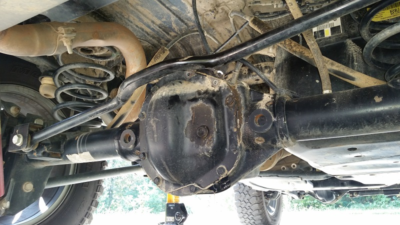 Changing The Gear Oil Jeep Wrangler Forum
